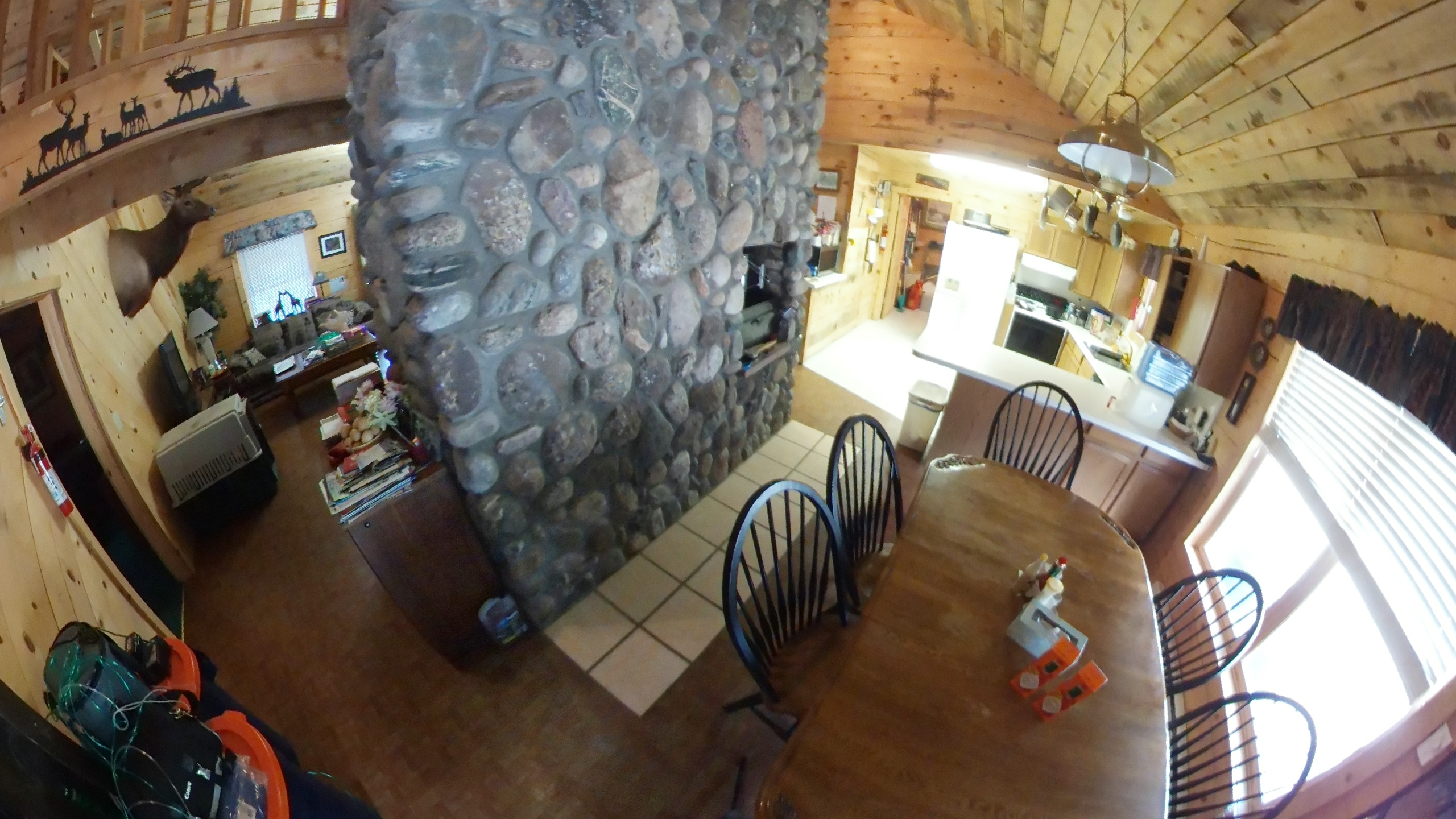 Colorado Cabin Dining Room